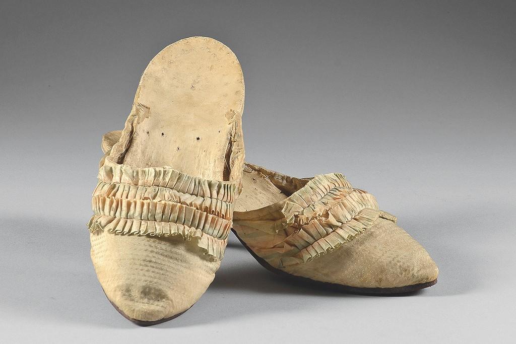 Marie Antoinette's slippers.