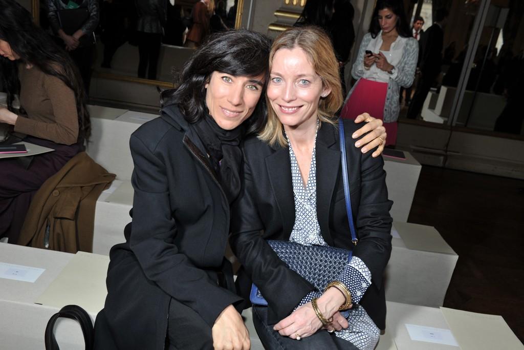 Blanca Li and Lucie de la Falaise