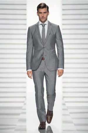 A Boss Selection suit.