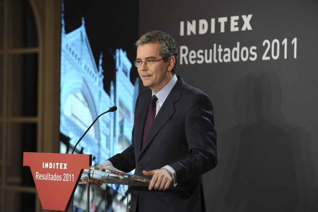 Inditex chairman and chief executive officer Pablo Isla.