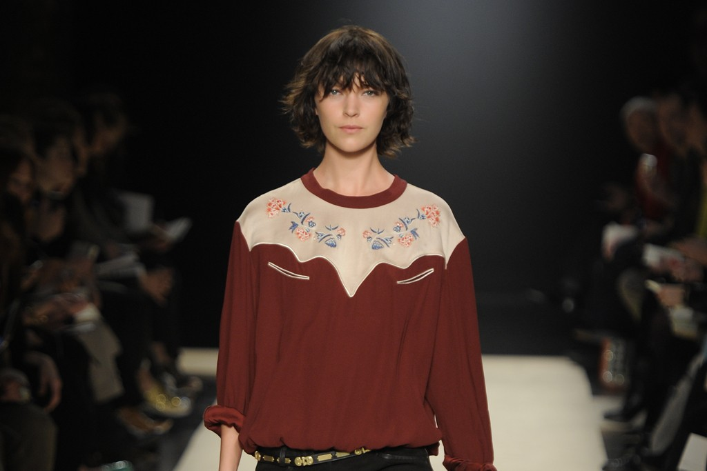Isabel Marant RTW Fall 2012