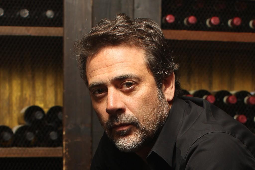 Jeffrey Dean Morgan at the Wine Room at Gemma at The Bowery Hotel.