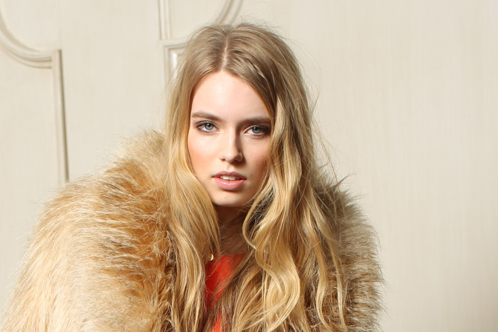 A look from Juicy Couture's fall 2012 collection.