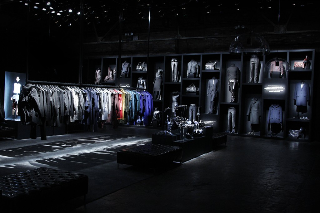 A view of the Kenneth Cole Collection.