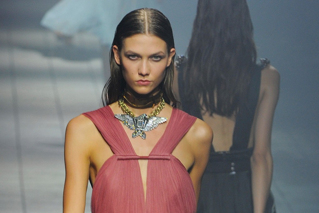 Lane Crawford will offer the choker from Lanvin's spring/ summer 2012 runway show in Paris.