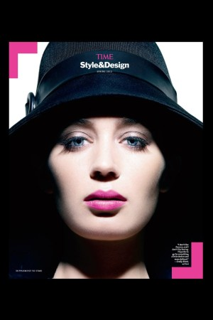 Emily Blunt on the cover of Time Style & Design.