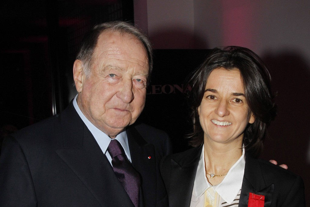 Nathalie Tribouillard and her father Daniel Tribouillard
