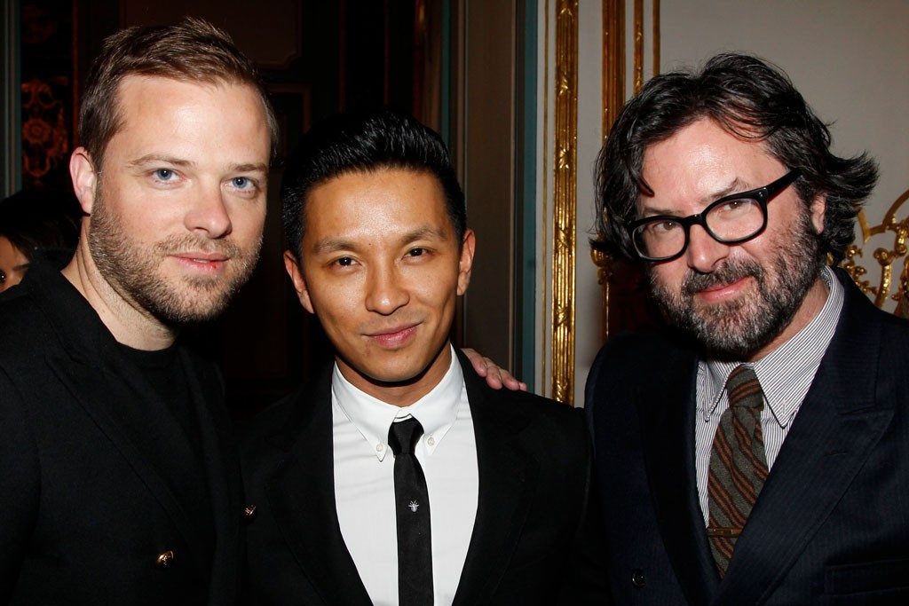Simon Spurr, Prabal Gurung and Billy Reid