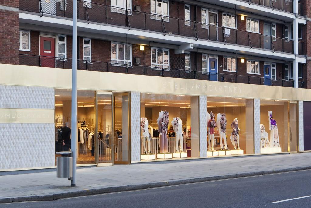 The Stella McCartney store in South Kensington's Brompton Cross in London.