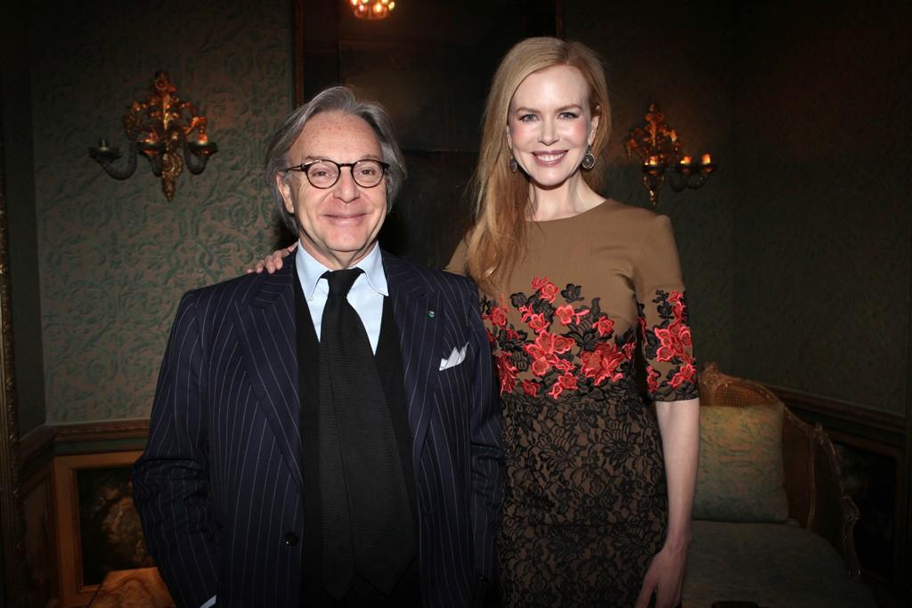 Diego Della Valle and Nicole Kidman