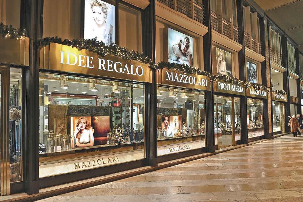 One of Milan's grand beauty emporiums, Mazzolari
