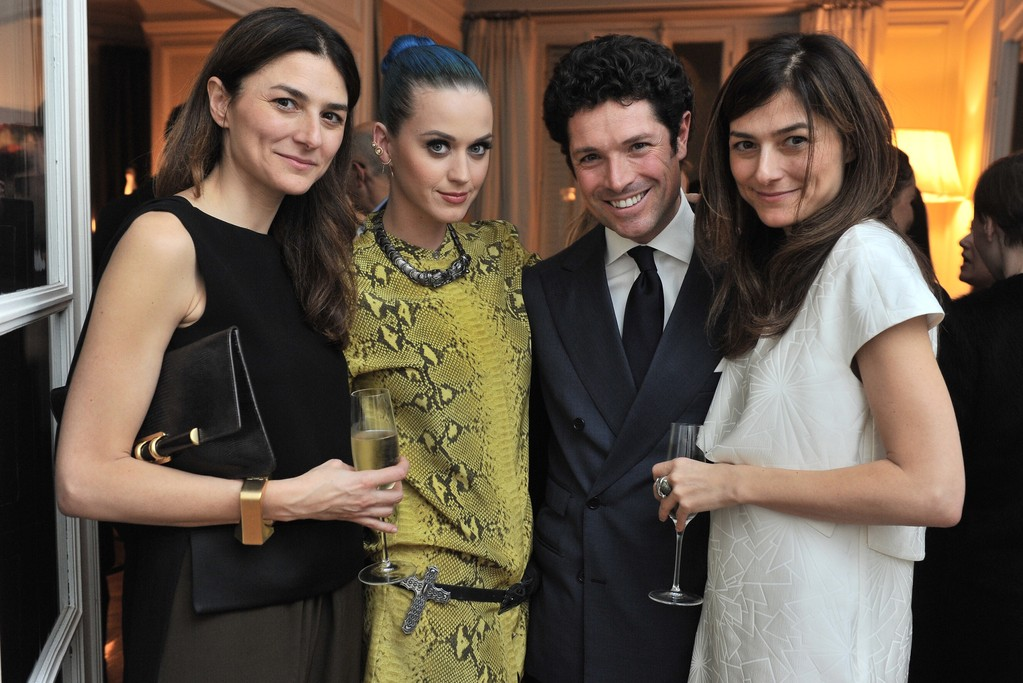 Lucia Croce, Katy Perry, Matteo Marzotto and Barbara Croce.