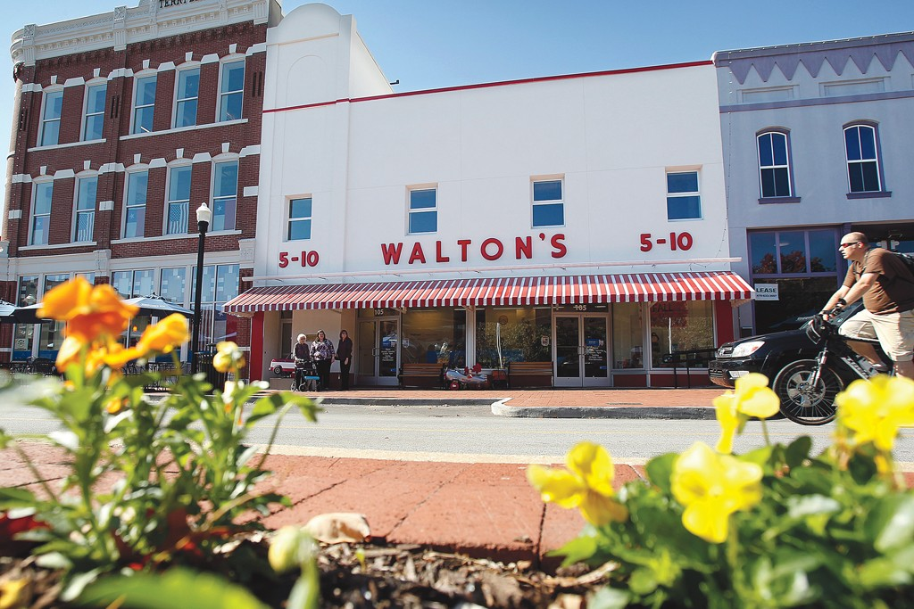 Sam Walton got his start with Walton's Five and Dime.