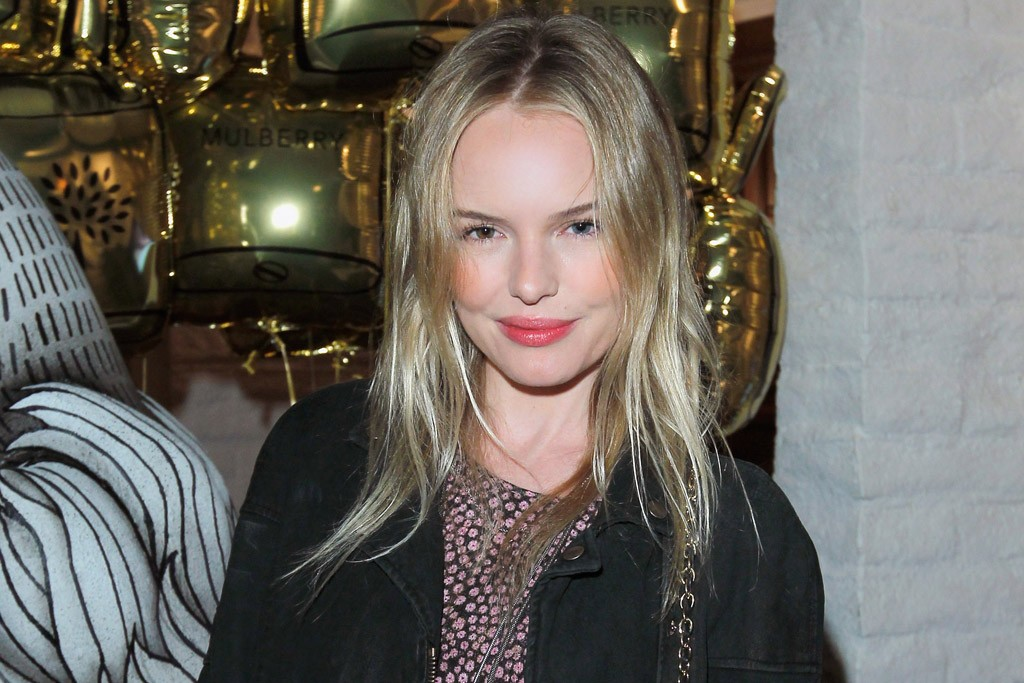 Kate Bosworth in Mulberry at the brand's fire pit party.