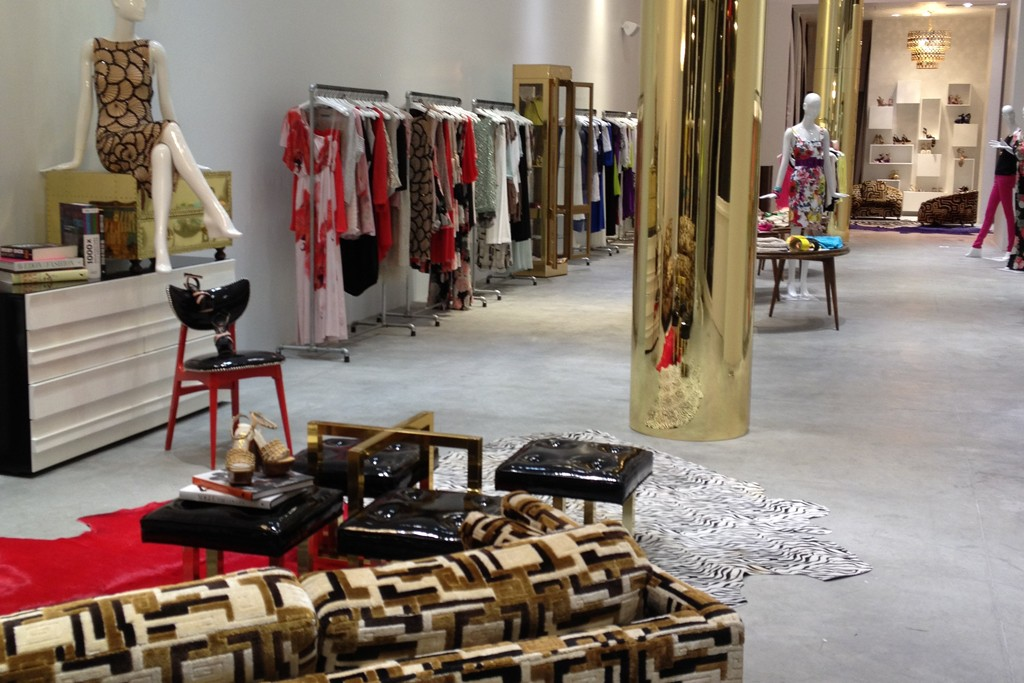 A look at the Alice + Olivia store.