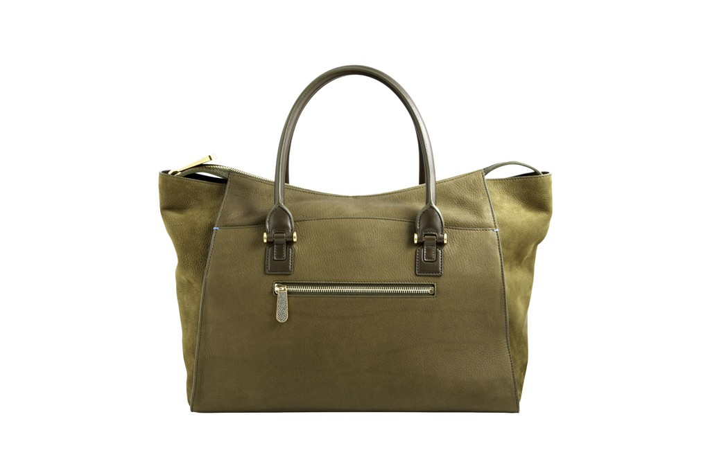 A bag from Smythson.