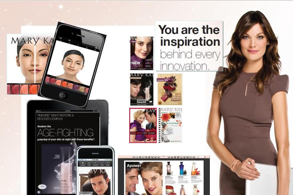 A look at Mary Kay's Virtual Makeover.