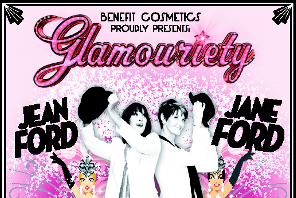 "Benefit's ""Glamouriety."""