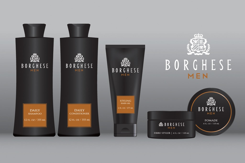 A look at Borghese's Professional Hair Care line for men.