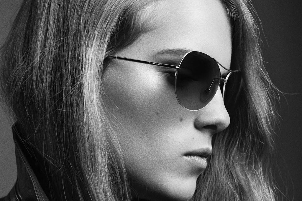 Singer-songwriter Marika Hackman in the Burberry summer eyewear campaign.