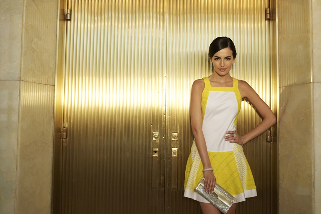 """Camilla Belle in Cotton Incorporated's """"A Tale of Two Cities."""""""