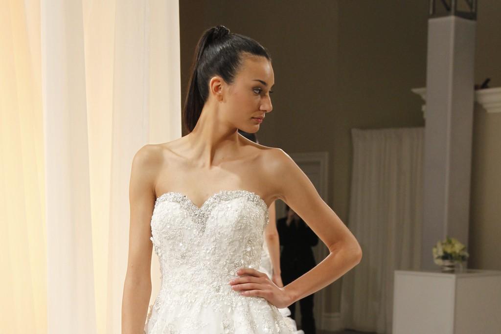 Dennis Basso for Kleinfeld Bridal Fall 2012
