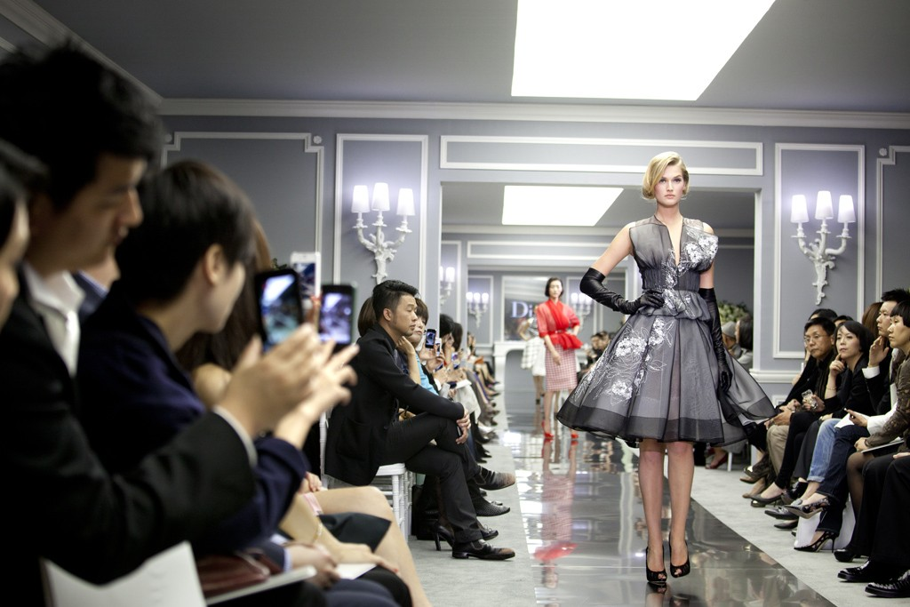 A look from the Christian Dior Spring Couture 2012 show in Shanghai.