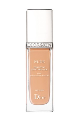 Diorskin Nude foundation.