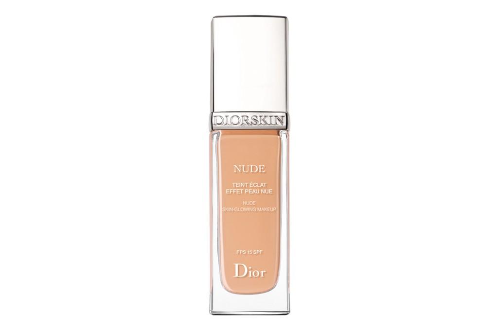 Diorskin Nude foundation.