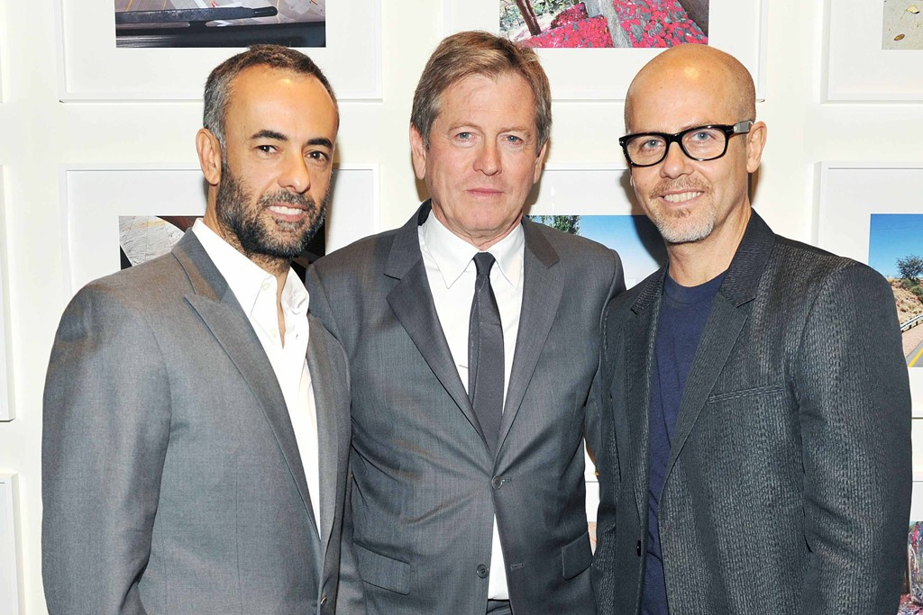 Francisco Costa, John Pawson and Italo Zucchelli.
