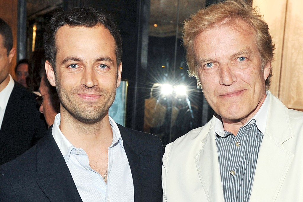 Benjamin Millepied and Peter Martins