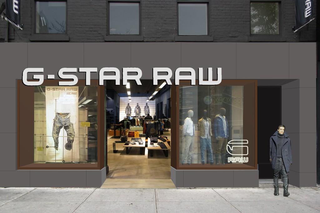 G-Star's new store in Toronto.