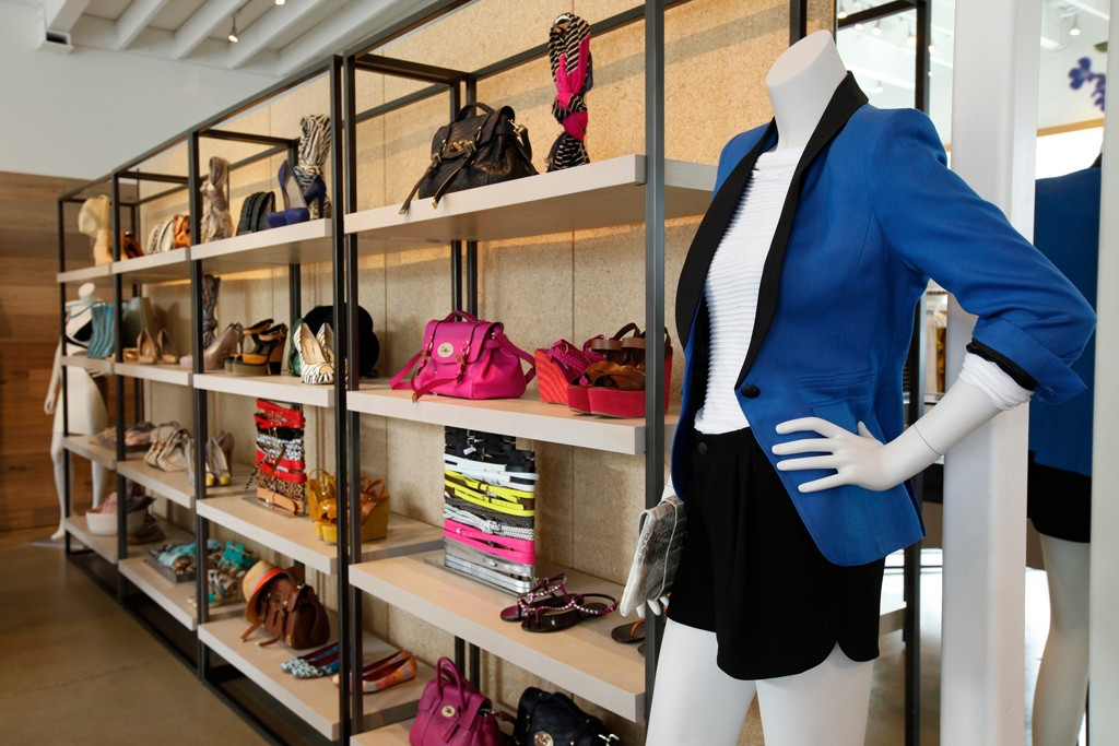 A look inside the Intermix store