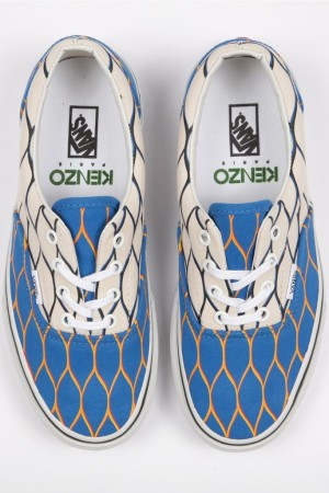 Sneakers by Kenzo and Vans.