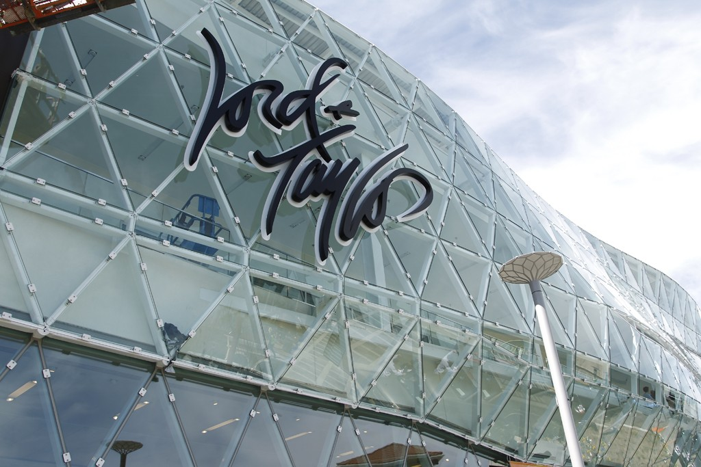 A view of the Lord & Taylor store.