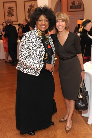 Jessye Norman with The Jones Group's Mary Belle.