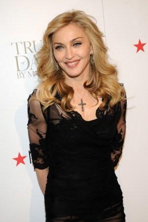 Madonna in Dolce & Gabbana.