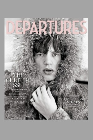 The cover of Departures magazine.