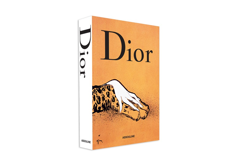 The slipcase of the Dior box set by Assouline.