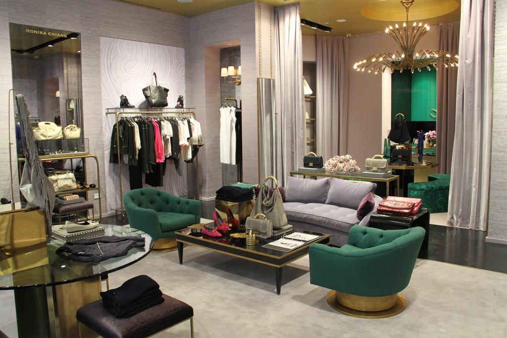 A look inside Monika Chiang's SoHo store.