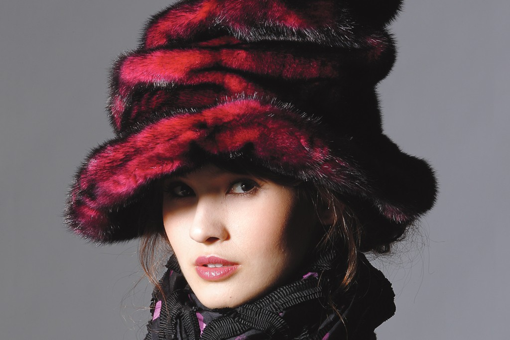 Hat by Marc Jacobs.