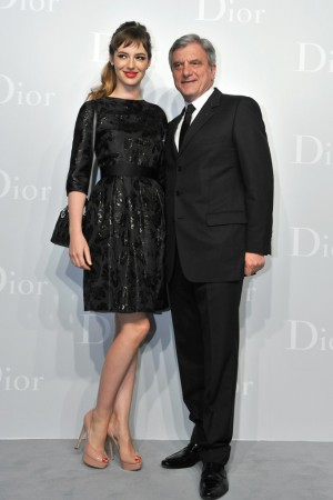 Louise Bourgoin and Sidney Toledano