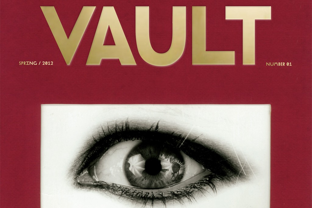 Christopher Makos cover shot for the debut issue of Vault.