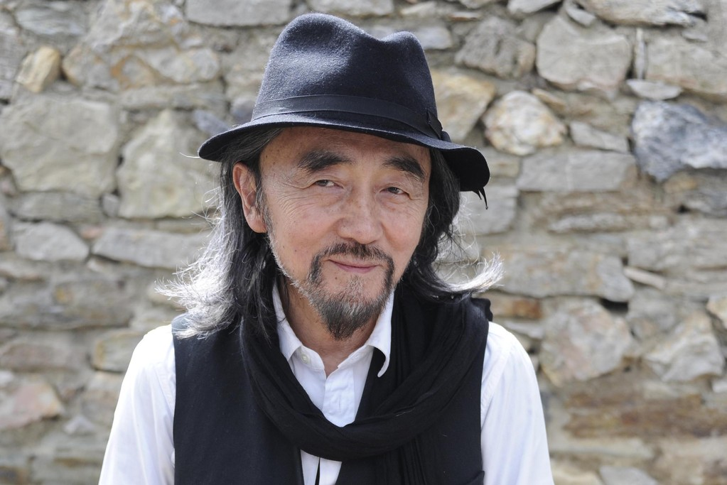Yohji Yamamoto at the Villa Noailles in Hyères.