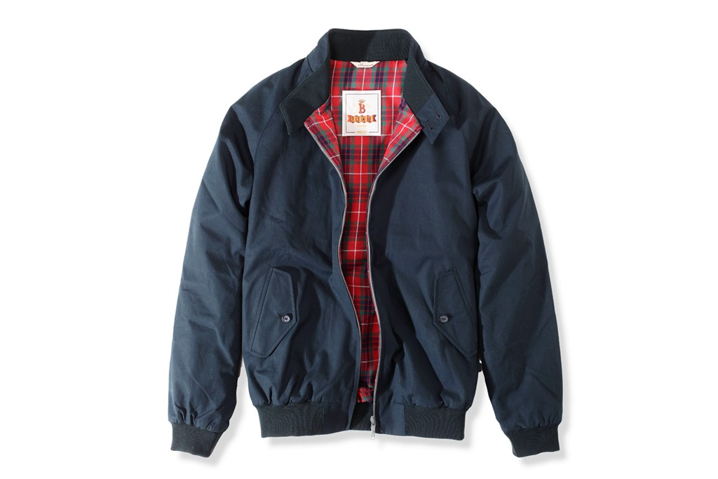 A spring '13 look from Baracuta.
