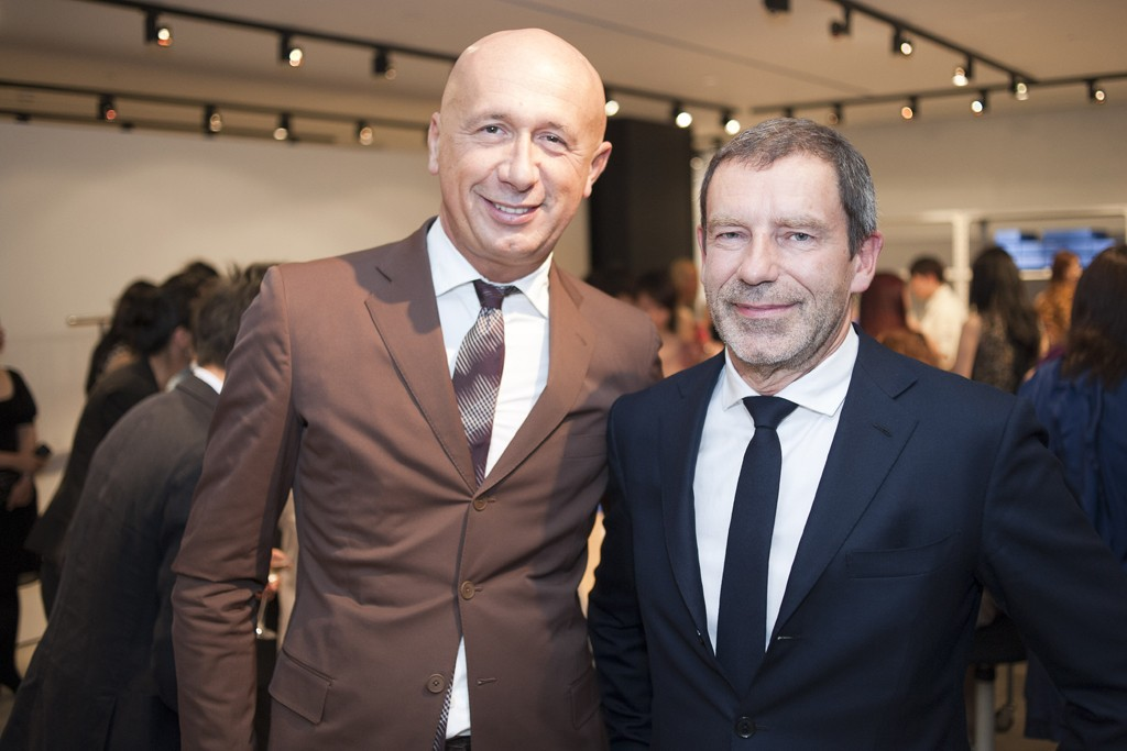 Marco Bizzarri and Tomas Maier