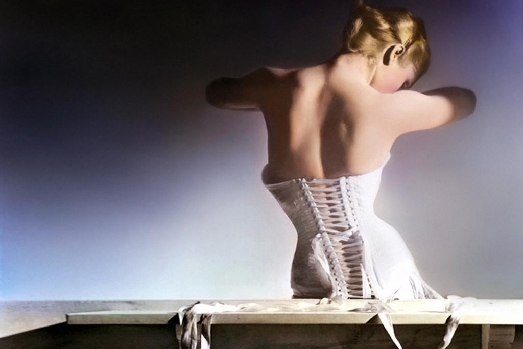 A Mainbocher corset.