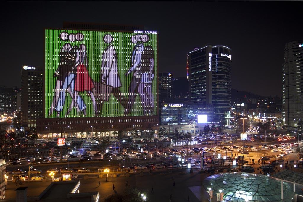 The Seoul Square Media Canvas.