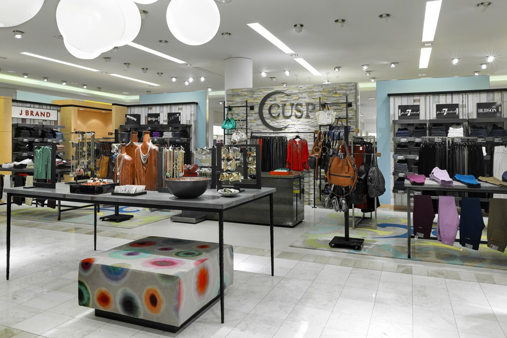 The new Cusp contemporary department inside Neiman Marcus