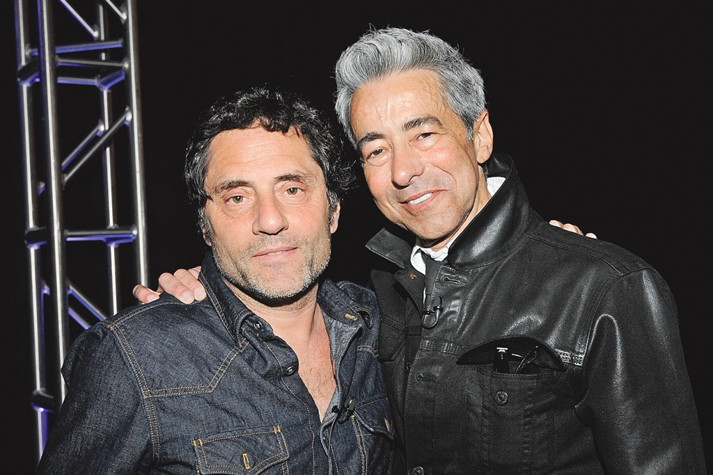 David Lipman and Barry Miguel